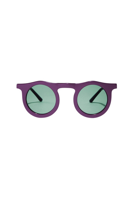 Carla Colour People Eater Lens Sunglasses in Sweet Leaf