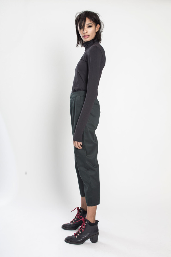 KOWTOW Ritual Pant in Dark Green
