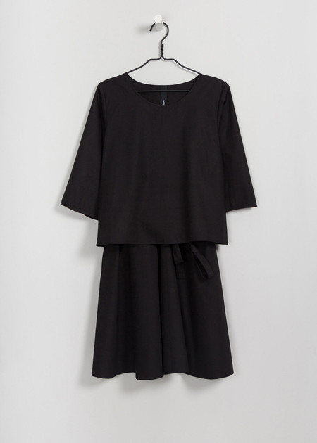 Kowtow Stack Dress in Black