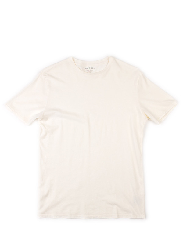 Men's  Alex Mill Simple Tee Cream