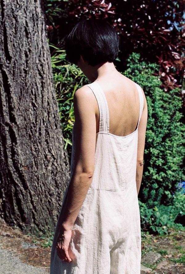 Rachel Comey Costello Jumpsuit - natural