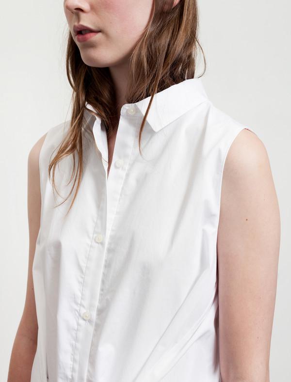 Thakoon Womens Layered Shirtdress - White