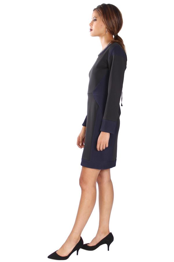 Long Sleeve Zipper Back Dress