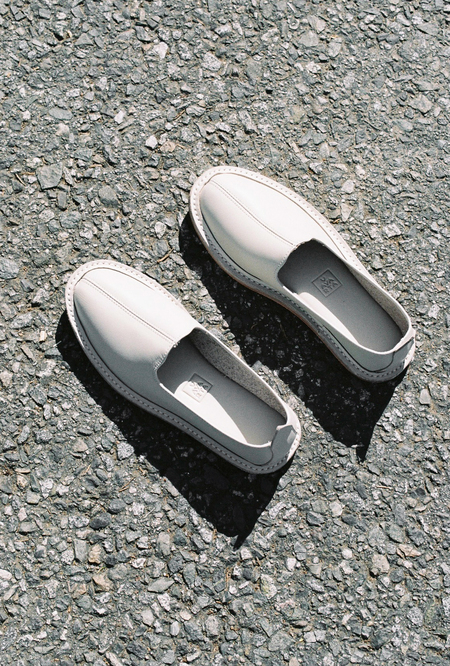 Vayarta Leather Slip On - tile