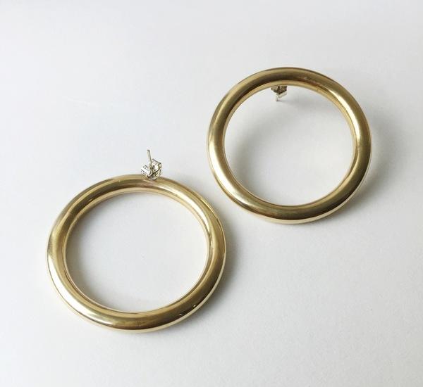 Nandi Naya Yoli Earrings -  Brass