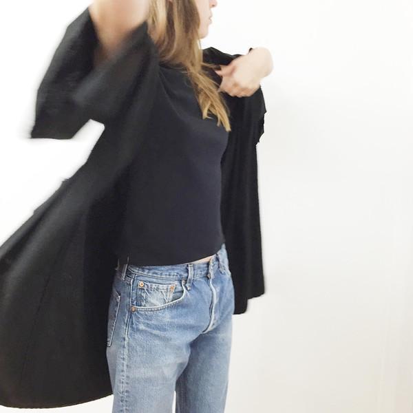Laurs Kemp Nori Raw Silk Kimono