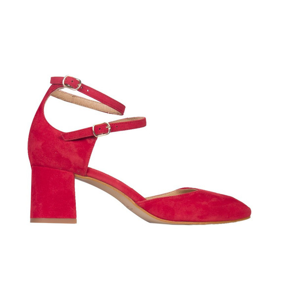 L'Intervalle Reikan Suede Shoes (Red)