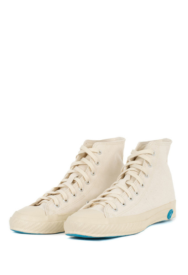 Shoes Like Pottery High Top Canvas Sneaker - Natural