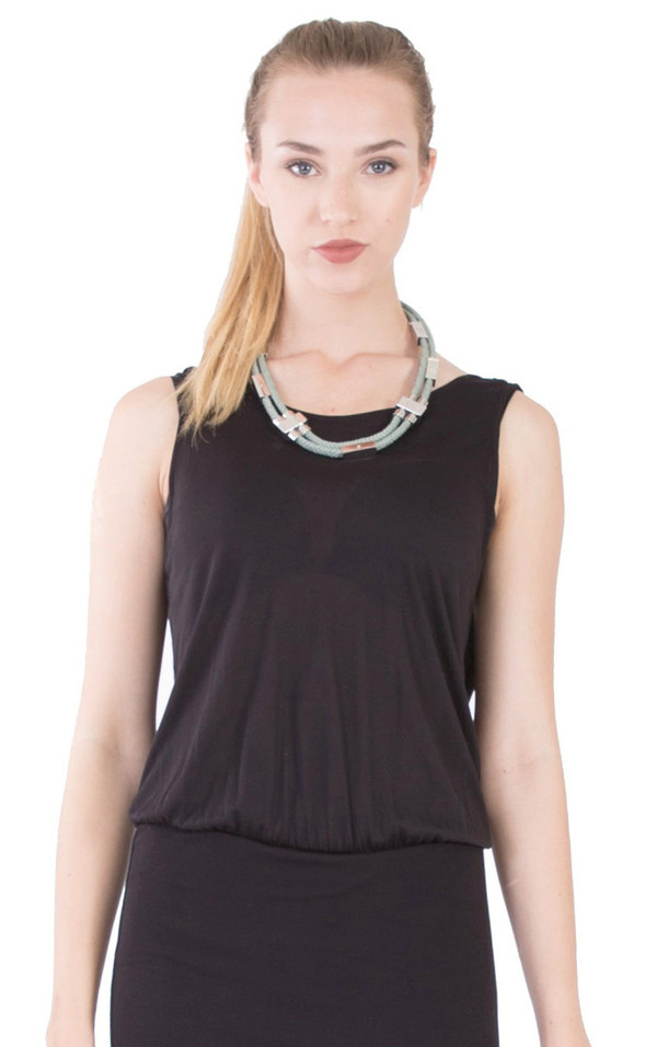 Hoss Intropia Double Cord Necklace