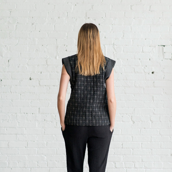 Anaak Shashiko Quilted Vest