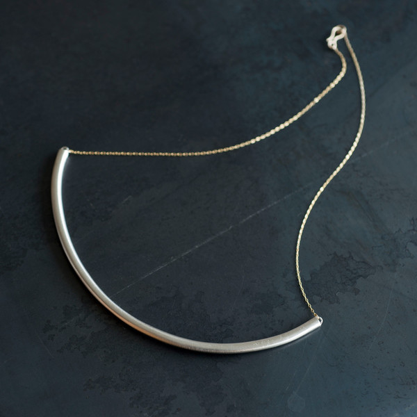 Etten Eller 07.21.1971 Medium Bar Necklace
