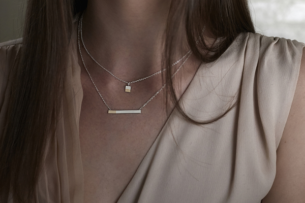 TARA 4779 Percentages Necklace No.1 - 50-50
