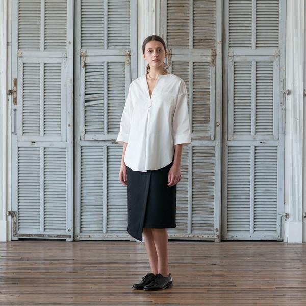 Nomia Pocket Wrap Skirt