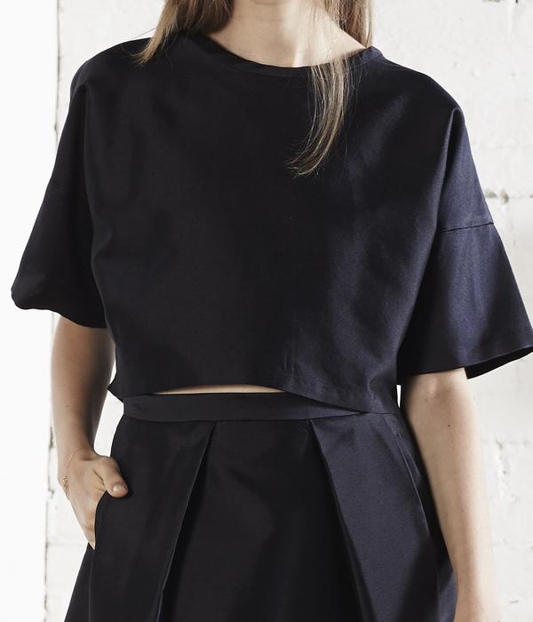 Nikki Chasin Kit Crop Top