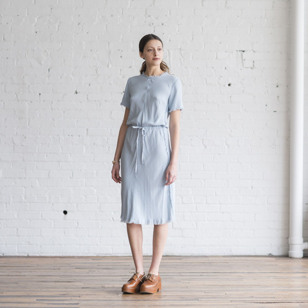 Raquel Allegra Bias Tee Dress