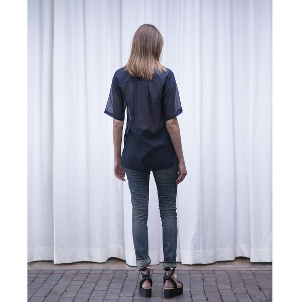 Schai Polygon Sheer Tunic - SOLD OUT