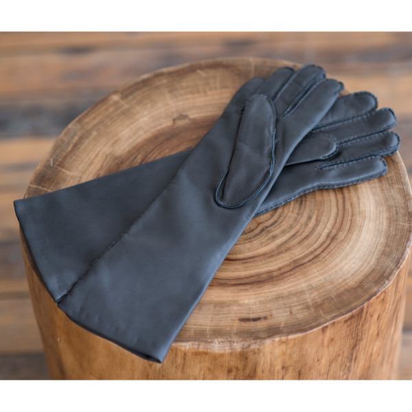 Yvonne Koné Stitched Gloves Graphite - SOLD OUT