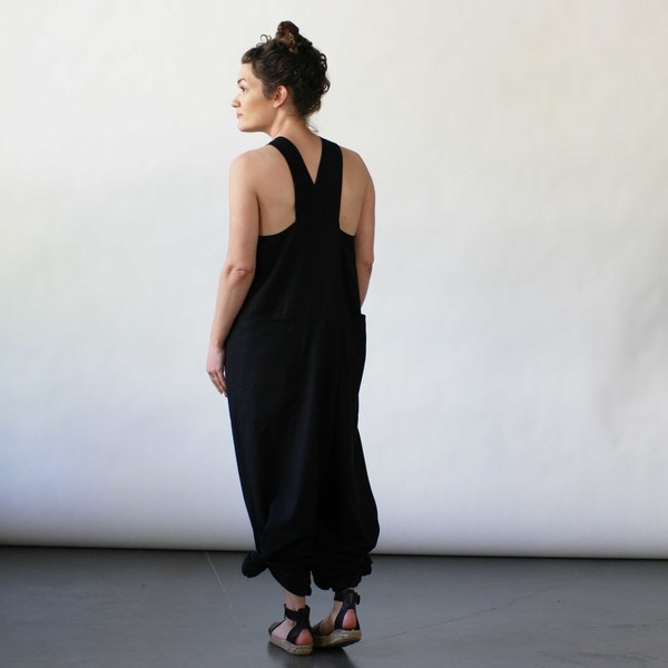 StudyNY Tank Suit in Black