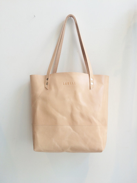 Lowell Mexico Cuir Nude/ Nude Leather