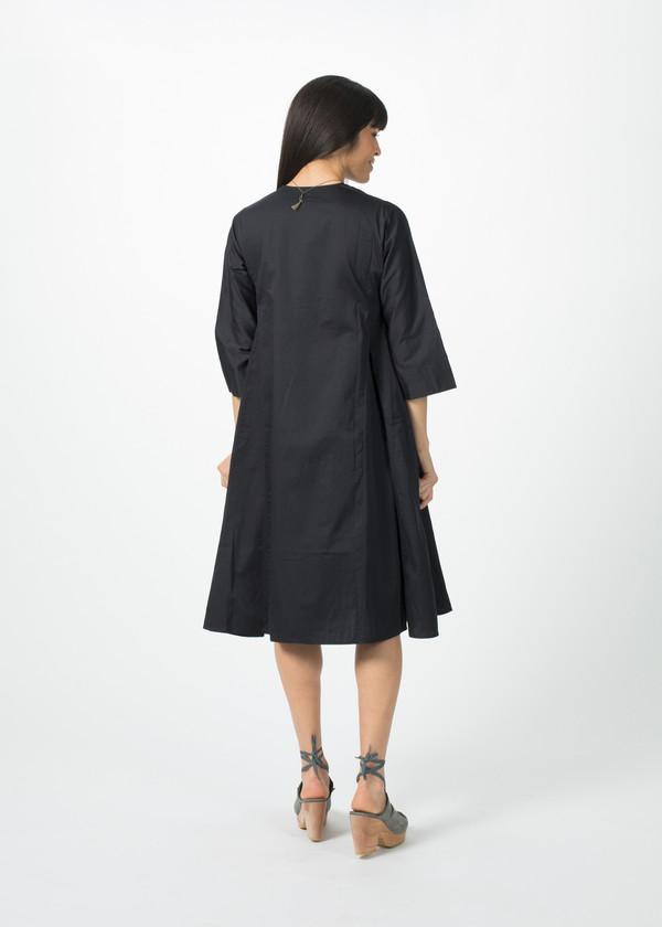 Dosa Short Tule Dress - Black (Midnight)