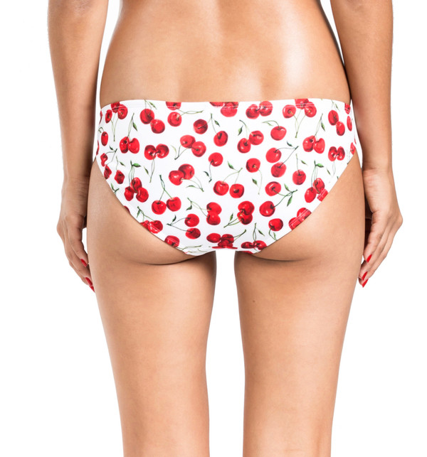 BETH RICHARDS Naomi Bottom - Cherry LOW WAIST BOTTOM