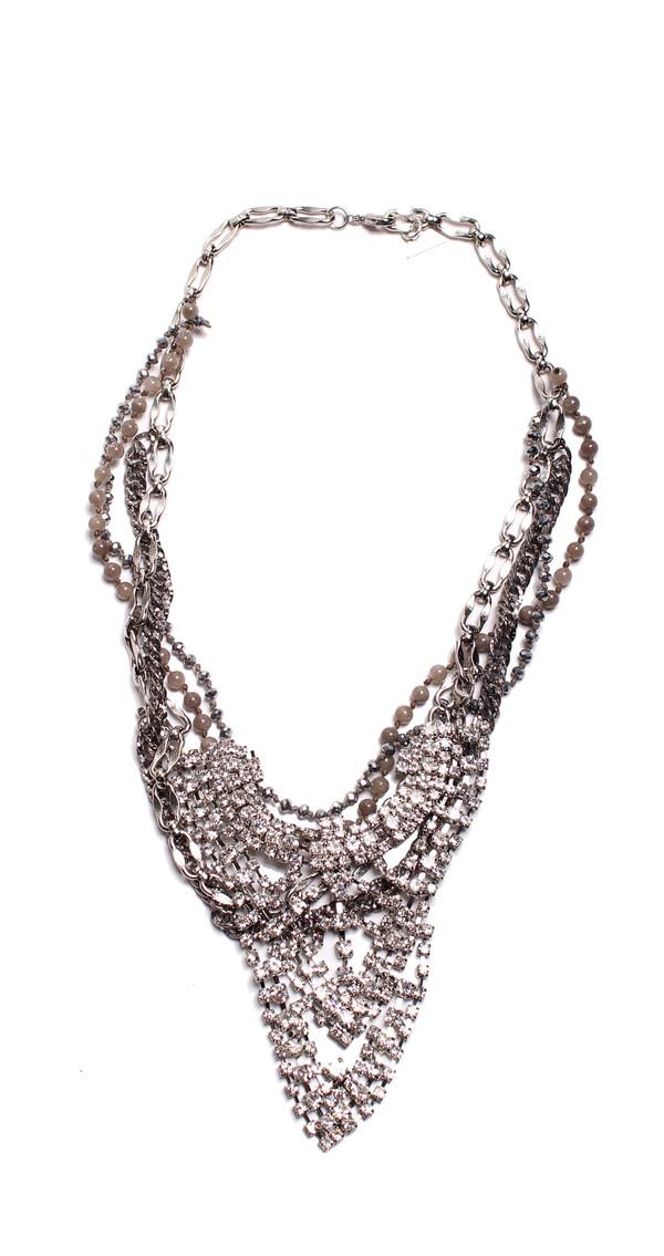 Serefina Glistening Armor Necklace