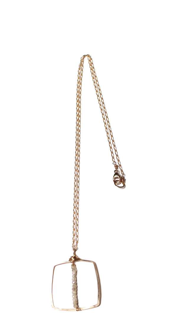 James and Jezebelle Silverite Necklace