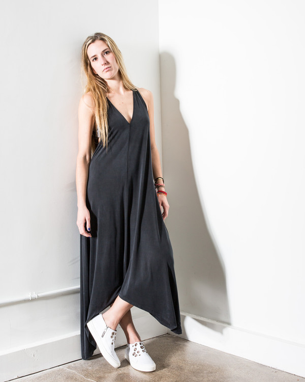 34N 118W 34Nº 118Wº Mateo Jersey Maxi Dress