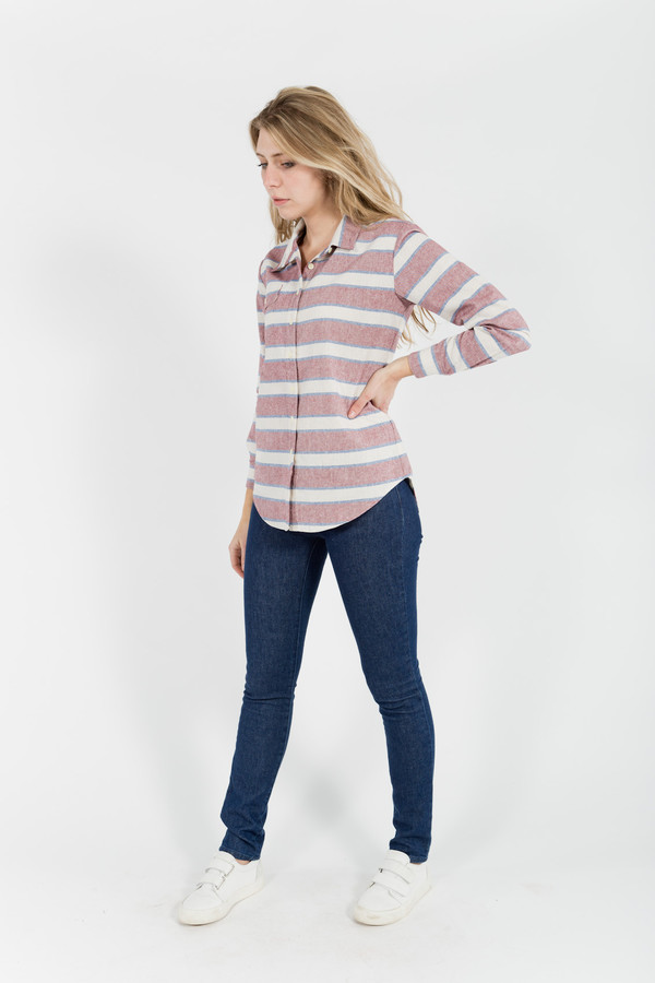 Bridge & Burn Bird Stripe Top