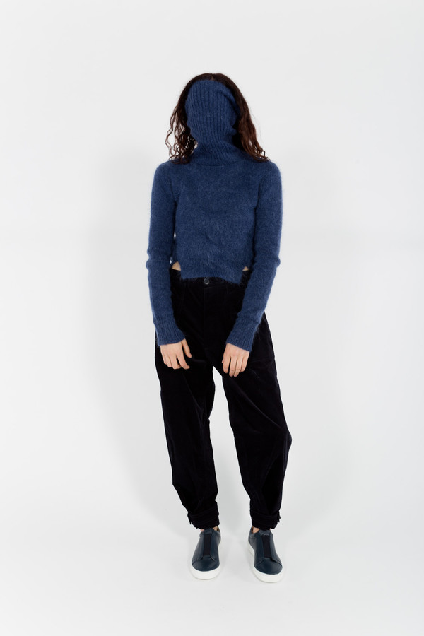 Band of Outsiders Cropped Turtleneck