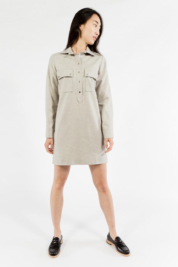 Maison Kitsune Flannel Dress