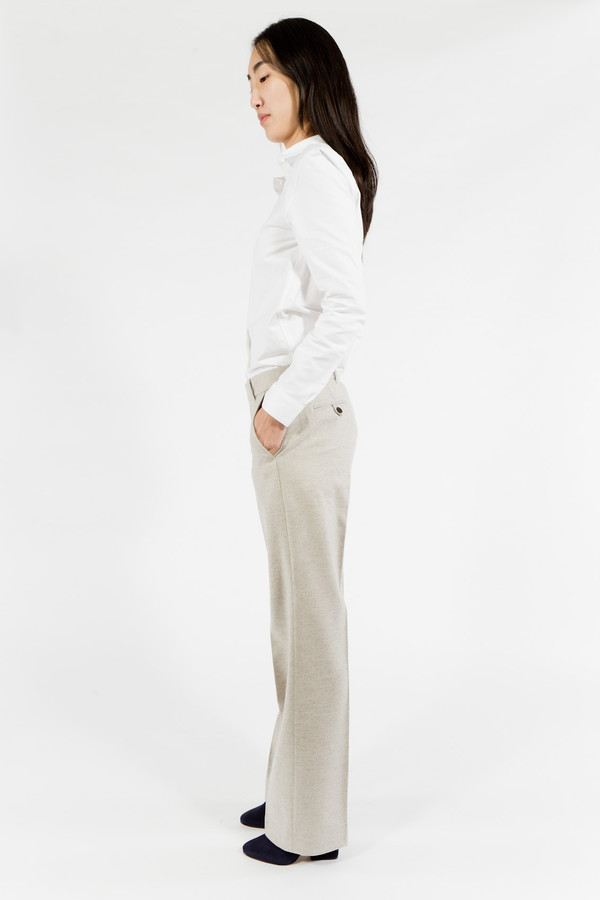 Maison Kitsune Flannel Masculin Pant