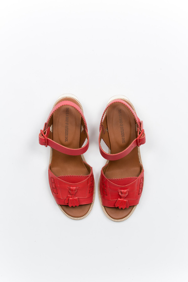 Band of Outsiders Loafer Sandal