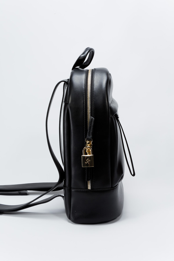 WANT Les Essentiels de la Vie Mini Piper Backpack Jet Black