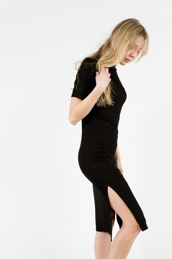 Nomia Mockneck S/S Midi Dress