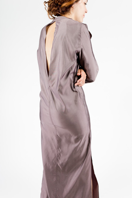 Eckhaus Latta Open Shoulder Dress