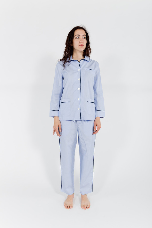 Sleepy Jones Paley Pajama Shirt