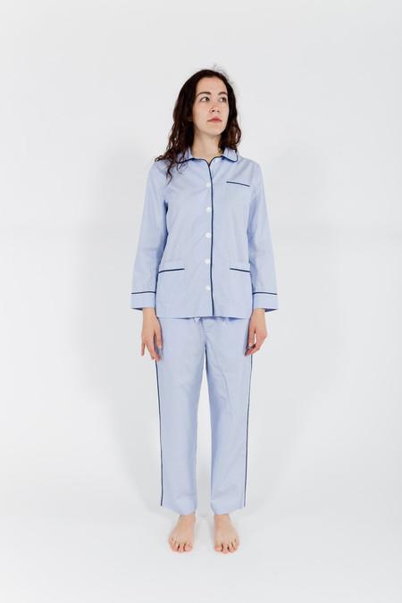 Sleepy Jones Paley Pajama Shirt