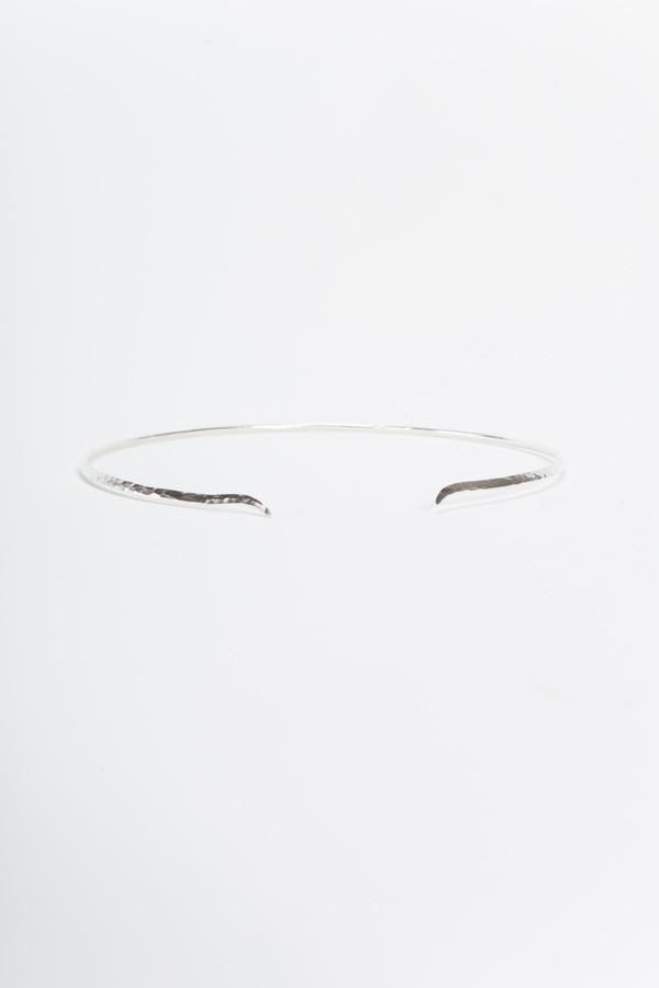Knobbly Studio Peak Collar Silver