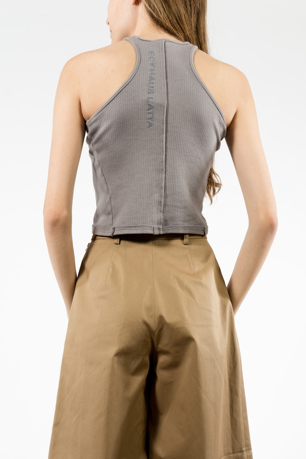 Eckhaus Latta Pewter Lapped Tank
