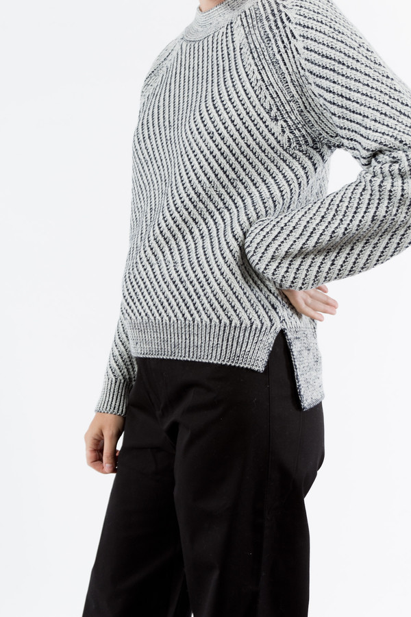 Le Mont St. Michel Plaited Sweater