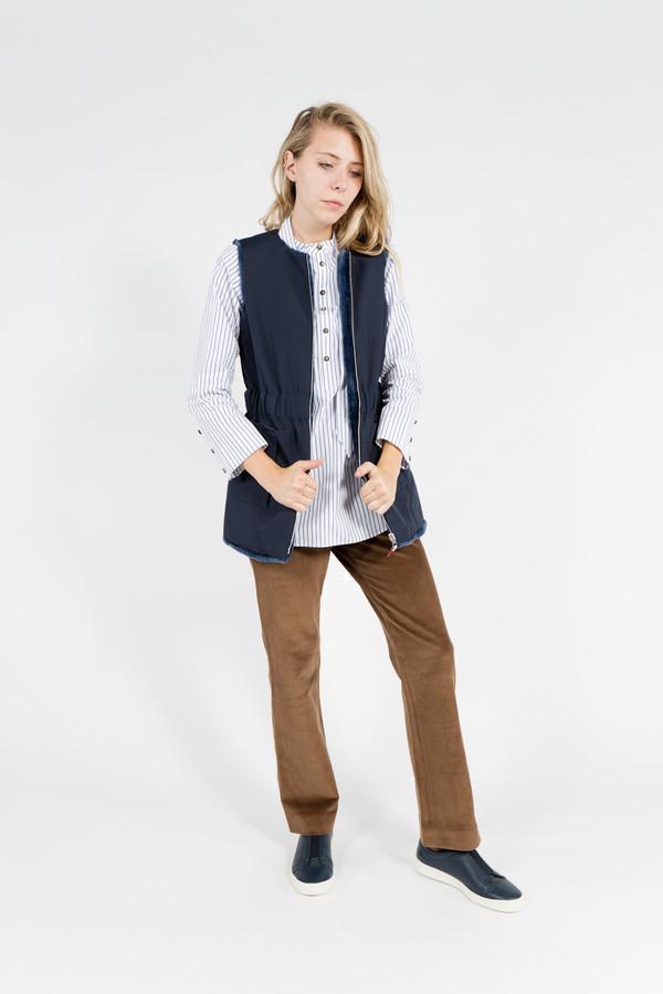 Trademark Reversible Vest