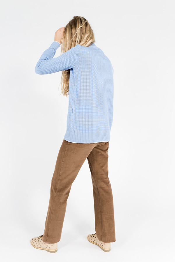 Trademark Ribbed Stripe Sweater