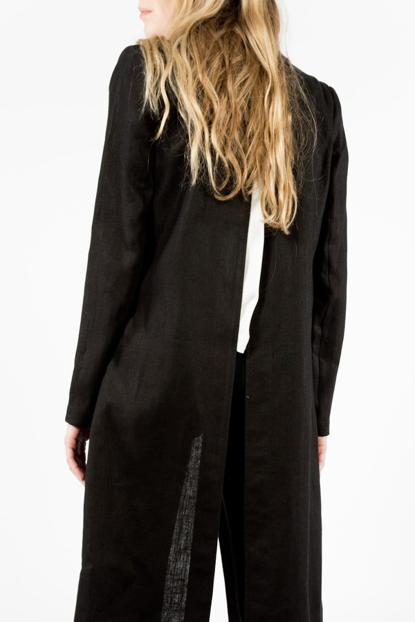 Nomia Slit Back Duster