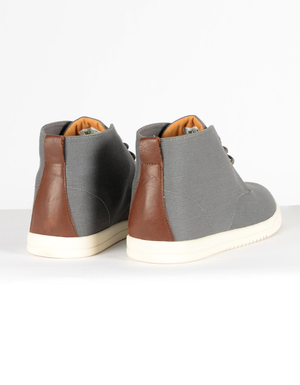 Men's Clae Strayhorn Charcoal Canvas