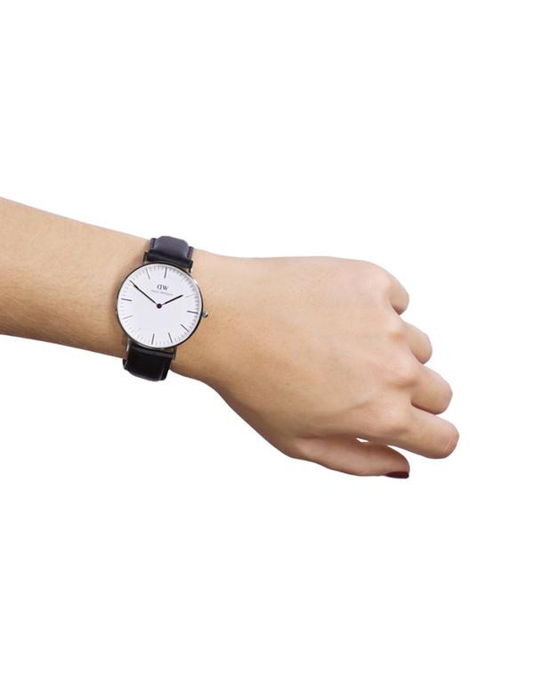 Daniel Wellington Sheffield Watch Silver 36mm