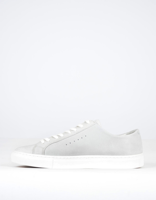 Filippa K Men's Morgan Low-Top Sneaker Light Grey