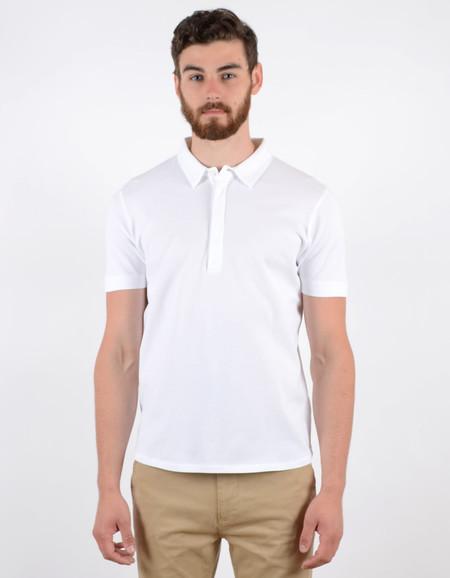 Filippa K Men's Pique SS Poloshirt White
