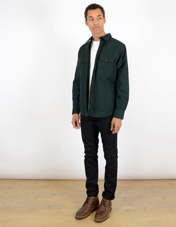 Filson Flannel Hunting Shirt Hunter Green