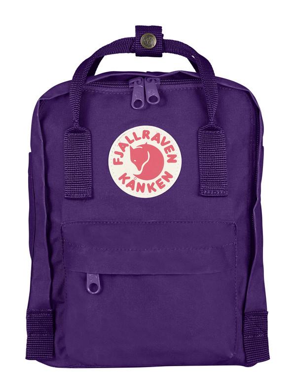 Fjallraven Kanken Mini Backpack Purple